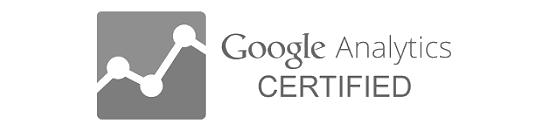 VWeb est certifié Google Analytics