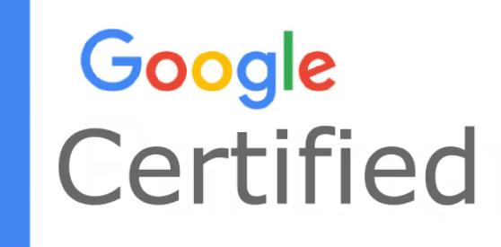 VWEB est certifié Google