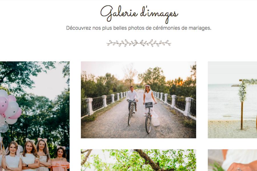 photos de mariage wedding planner site web